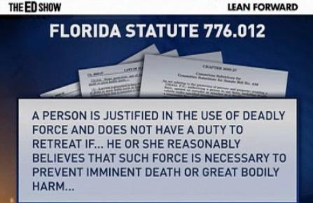 Florida Law On Shooting Someone On Your Property