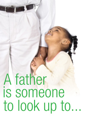 father.look up to