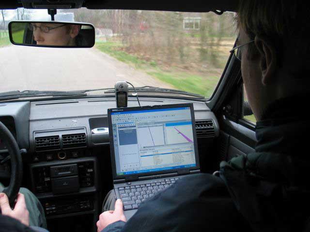 Satellite-navigation