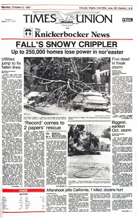 Knick News.Oct 1987