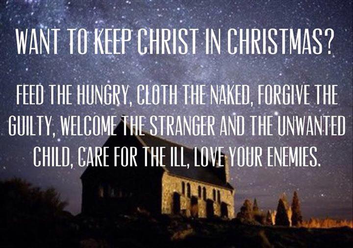christ in christmas