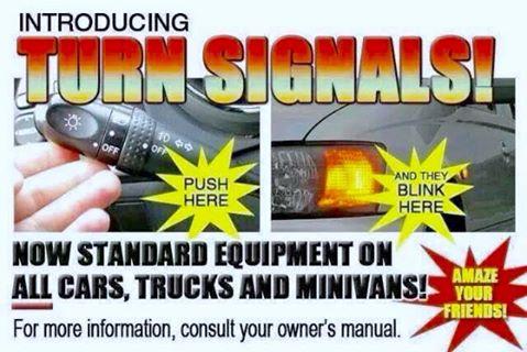 turn signal