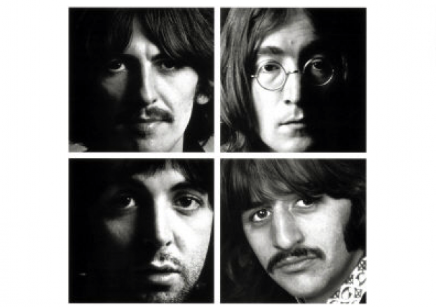 Book Cover Black Beatles : A book about the white album